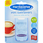 Hermesetas Mini Sweeteners 400 Tablets 6g