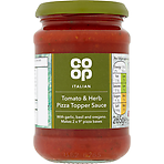 Calories In Co Op Italian Tomato Herb Pizza Topper Sauce 265g Nutrition Information Nutracheck