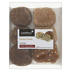 LifeFibre Co. Variety Rolls 6 Pack Linseed & Oatbran
