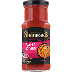 Sharwood Sweet & Sour Stir Fry Cooking Sauce 195g