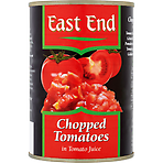 East End Chopped Tomatoes in Tomato Juice 400g