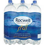 Rocwell Natural Mineral Water Still 6 x 2 Litre