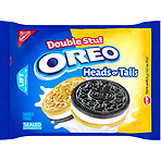 Nabisco Oreo Double Stuff Heads or Tails Sandwich Cookies 432g