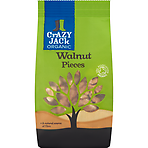Crazy Jack Organic Walnut Pieces 100g