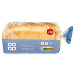 Co Op Farmhouse White Loaf 800g