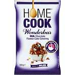 Homecook Wonderbar Milk Chocolate Flavour Cake Covering 300g
