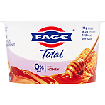 FAGE Total 0% Fat Free Greek Recipe Strained Yoghurt with Honey 170g