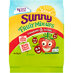 Whitworths Sunny Fruit Mix-Ups Strawberries & Sultanas 4 x 18g