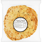 Mubarak Food Company 2 Spicy Naan