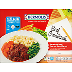 Hermolis Kosher Food Specialists Beef Goulash 345g