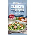 Mattessons Smoked Pork Sausage Reduced Fat 160g