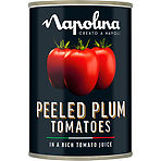 Napolina Peeled Plum Tomatoes in a Rich Tomato Juice 400g