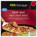 Calories In Asda Chosen By You Deep Pan Meat Feast Pizza