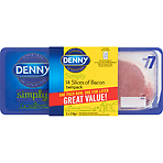 Denny Simply 14 Slices of Bacon Twinpack 2 x 210g