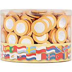 Steenland Chocolate 360 Gold Coins Drums
