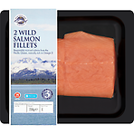 New England Seafood 2 Wild Salmon Fillets 230g