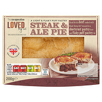 Calories in The Co-operative Loved by Us Steak & Ale Pie ...
