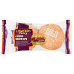 Linwoods Bakery 4 Seeded Burger Baps 240g