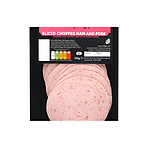 Browns Family Favourites Sliced Chopped Ham and Pork 150g