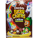 Lucky Charms Chocolatey Whole Grain Cereal with Marshmallows 311g