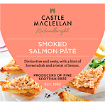 Castle MacLellan Smoked Salmon Pâté with Horseradish and Lemon 113g