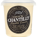 Calories In Tesco Finest Thick Chantilly Double Cream 250ml Nutrition Information Nutracheck