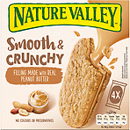 Nature Valley Nut Butter Peanut Biscuit Cereal Bars 4 x 38g
