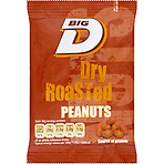 Big D Dry Roasted Peanuts 50g