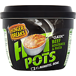 Hunger Breaks Hot Pots Classic Beef Bolognese & Pasta 320g