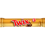 Twix Chocolate Biscuit Snack Size Twin Bars Multipack 9 x 40g