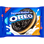 Nabisco Oreo Peanut Butter Creme Chocolate Sandwich Cookies 432g