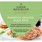 Castle MacLellan Rannoch Smoked Duck Pâté with Bramley Apple Jelly and Tarragon 113g