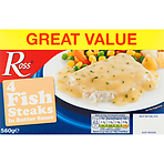 Ross 4 Fish Steaks in Butter Sauce 560g