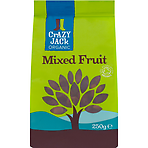 Crazy Jack Organic Mixed Fruit 250g
