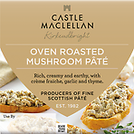 Castle MacLellan Oven Roasted Mushroom Pâté with Garlic and Thyme 100g