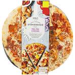 Calories In Ms Piri Piri Chicken Stonebaked Pizza 487g
