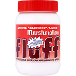 Fluff Artificial Strawberry Flavour Marshmallow 213g