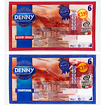 Denny Traditional & Hickory Smoked 2 x 180g Traditional