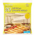 Humza Food Products 20 Chicken Spring Rolls 650g