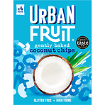 Urban Fruit Straight Up Coconut Chips 4 x 18g