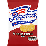 Roysters Bubbled Chips T-Bone Steak Flavour 28g