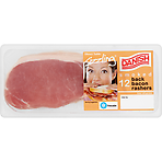 Danish Sizzling 12 Smoked Back Bacon Rashers 375g