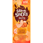 Whitworths Shots Nuts with a Pinch of Salted Caramel 25g