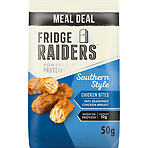 Fridge Raiders Southern Style Chicken Bites Meal Deal 50g