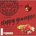 Pizza Express Classic Sloppy Giuseppe Spicy Beef & Green Pepper Pizza 305g