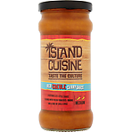Island Cuisine Red Creole Curry Sauce 350g