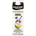 Cracker Drinks Co Coco+Juice Cranberry, Blueberry & Coconut Water Juice Drink 1 Litre