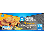 Weight Watchers 12 Delicious Ginger & Lemon Cookies 6 x 19g (114g)