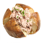 Calories In Jacket Potato Tuna Mayo No Butter Nutrition