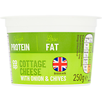Peachy Calories In Co Op Cottage Cheese With Onion Chive 250G Download Free Architecture Designs Scobabritishbridgeorg